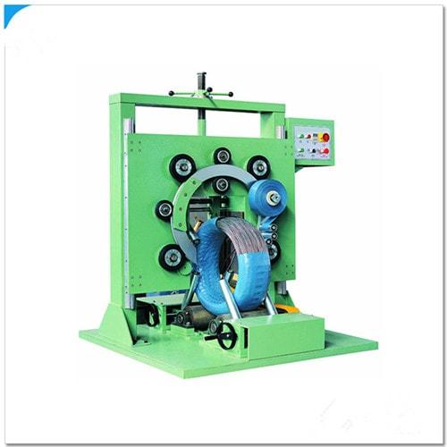 钢丝卷线圈包装机