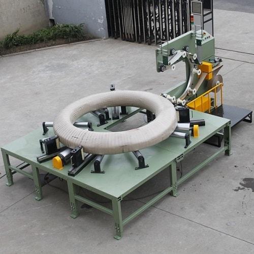 预应力钢丝线卷包装机