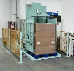 pallet changing machine